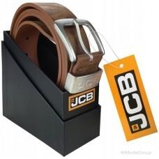 Элегантный оригинальный ремень JCB упакован в оригинальную коробку идеально подходит для подарка