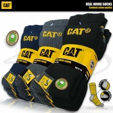 Носки премиум класса CATERPILLAR, CAT real work socks упаковка 3 пары
