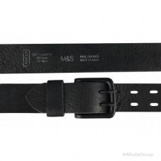 Оригинальный мужской кожаный ремень MARKS & SPENCER