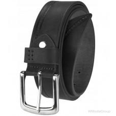 Оригинальный черный мужской ремень от британского бренда Ridgeback