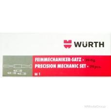 Набор бит WURTH с отверткой для точных работ 29 предметов