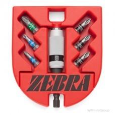 """Набор бит WURTH 1/4"""" ZEBRA, PZ, с держателем 7 предметов"""
