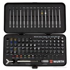 """Набор бит SAFE 1/4"""", 105 предметов Wurth"""