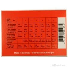 Набор экстракторов WURTH 1-6 для выкручивания сломанных болтов made in Germany