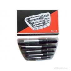 Набор экстракторов WURTH 1-5 для выкручивания сломанных болтов made in Germany