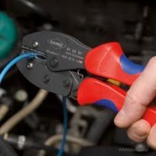 Клещи зажимные для опрессовки PreciForce® Knipex, 0,5 - 6,0 мм² 97 52 36