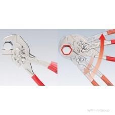 Ключ трубный переставной KNIPEX 86 03 150 с гладкими губками