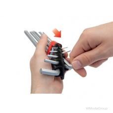 Набор 6-гранных ключей WURTH с шаровидной головкой 9 штук