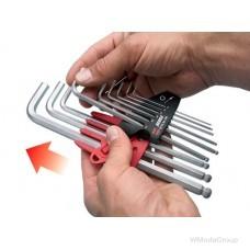 Набор 6-гранных удлиненных WURTH ключей с шаровидной головкой