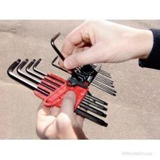 Набор Г-образных ключей WURTH ZEBRA Torx®, с фиксацией MagicSpring® 13