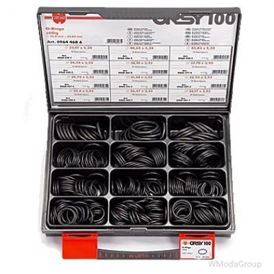 Набор колец резиновых, WURTH ORSY100 Дюймовые, 330 шт.