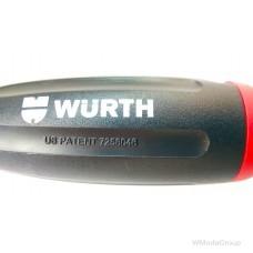 Отвертка WURTH с магазином и набором бит 8 предметов