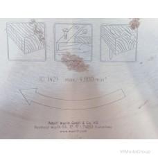 Пильный диск по дереву WURTH 400 х 4,0 / 2,8 х 30 мм 28 зубов 0611540028