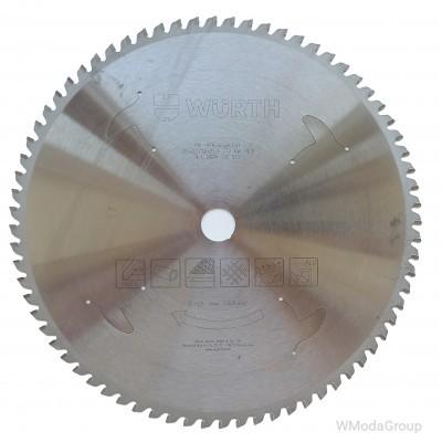 Универсальный высококачественный пильный диск WURTH для резки металлов 305 х 2,2 / 1,8 х 25,4 мм 72 зуба 0604130572