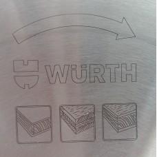 Специальный пильный диск WURTH 300 х 3,2 / 2,2 х 30 мм для чистого реза 0611030969