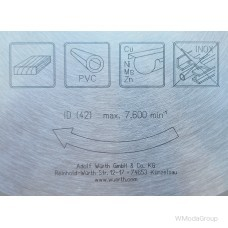 Универсальный пильный диск WURTH UNI-Top С переменными зубьями (AT) 250 х 3,0 / 2,0 х 30 мм 42 зуба 0611625042