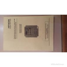 Преобразователь частоты Hitachi SJ200 - 015NFEF 1.5kW made in Japan