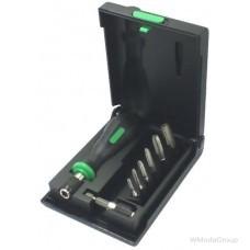 Набор метчиков COBIT M3-M10 плюс магнитный держатель и ручка Made in Germany