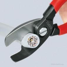 Ножницы для резки кабелей с двойными режущими кромками KNIPEX 95 17 200