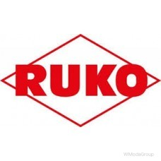 Набор зенковок RUKO HSS 90°, с тремя режущими кромками, в пластмассовом футляре, 6 шт.
