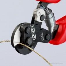 Ножницы для резки особо прочного проволочного троса 160мм, KNIPEX 95 62 160 TC