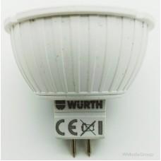 Светодиодная лампа WURTH 12 Вольт, 5W / GU5,3 / 2800K