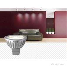 Светодиодная энергосберегающая лампа Toshiba E-core 5 Вт 12 Вольт (замена 25 Вт) MR16 (GU5.3)
