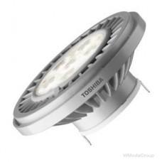 Светодиодная энергосберегающая лампа TOSHIBA LED G53 15 Вт 12 Вольт WW REFL 25000 H 2700 K теплый белый