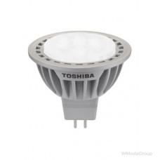 Светодиодная энергосберегающая лампа Toshiba MR 16 GU5.3 LED 7W 12 Вольт LED, 2700k, 35 градусов, Энергетический класс A +