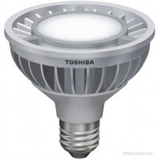 Светодиодная энергосберегающая лампа Toshiba E-core E27 16 Вт 220 Вольт Par30 Led 4000k, луч 23 градуса, холодный белый цвет [энергетический класс A]