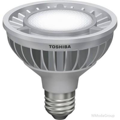 Светодиодная энергосберегающая лампа Toshiba E-core E27 16 Вт 220 Вольт Par30 Led 2700k, луч 23 градуса, домашний белый цвет [энергетический класс A]