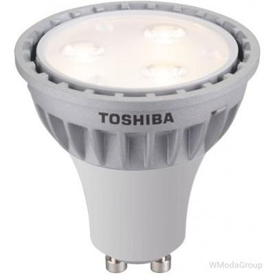 Светодиодная энергосберегающая лампа Toshiba E-CORE 5 Вт 220 Вольт (замена 50 Вт) GU10
