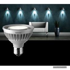 Светодиодная энергосберегающая лампа Toshiba E-core E27 16 Вт Par30 Led 4000k, 220 Вольт, луч 23 градуса, холодный белый цвет [энергетический класс A]