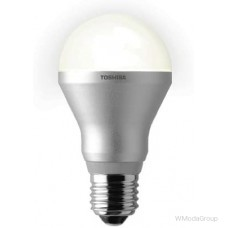 Светодиодная энергосберегающая лампа Toshiba E-core E27 5.5 Ватт 220 Вольт Classic Gls 2700k 325lm, Home White [Энергетический класс A]
