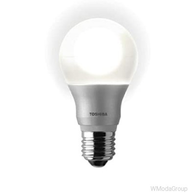 Светодиодная энергосберегающая лампа Toshiba LED-E-Core E27 / 7.7W 220 Вольт 2700K теплый белый