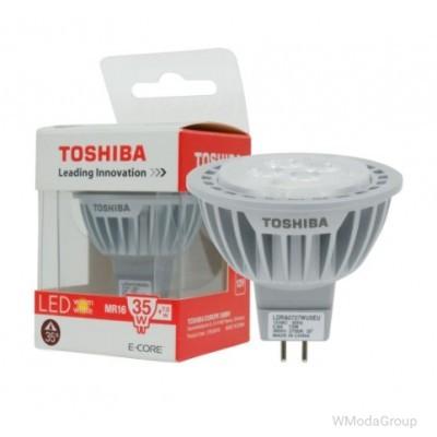 Светодиодная энергосберегающая лампа Toshiba GU5.3 LED 7W 12 Вольт LED ( замена 35 Вт )