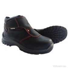 Ботинки сварщика WURTH черные S3