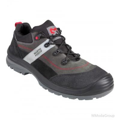 Демисезонная замшевая обувь WURTH / MODYF CORVUS серый S3