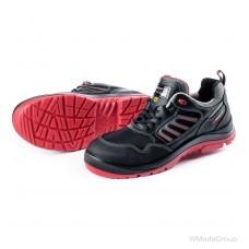 Кроссовки S3 ESD SPORT PLUS FLEXITEC черный-красный