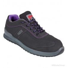 Кроссовки WURTH / MODYF S3 SRC CARINA черная с фиолетовым