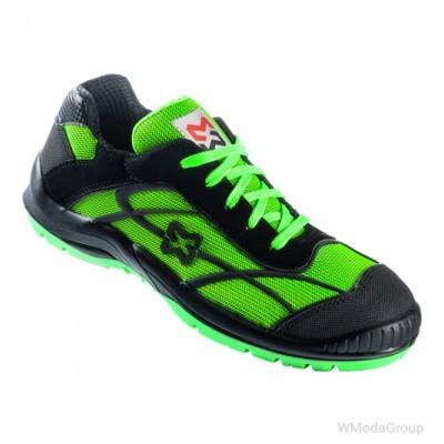 Кроссовки WURTH / MODYF S1P SRC NET зеленый-черный
