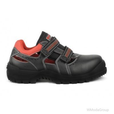 Полуботинки сандалии с перфорацией METAL FREE Wurth