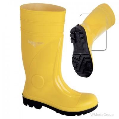 Сапоги резиновые желтые The Safety Work S5 SRA
