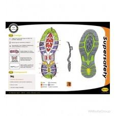 Ботинки WURTH / MODYF S3 SRC TECHNO FLEXITEC антрацит лимонный