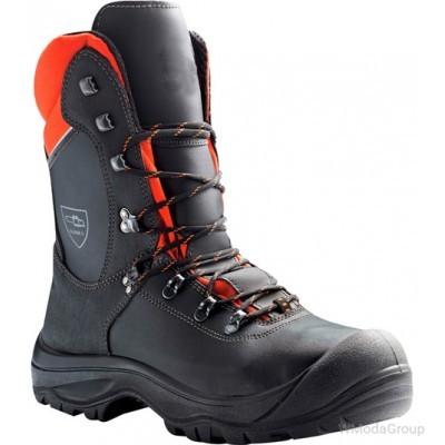 Зимние ботинки с защитой от порезов WURTH MODYF S3 BLACK FOREST черный-оранжевый