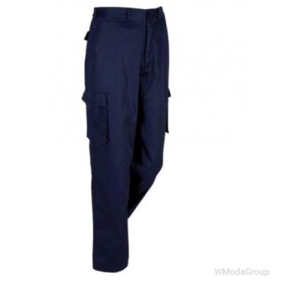 Брюки MODYF/SAGER темно-синие с несколькими карманами