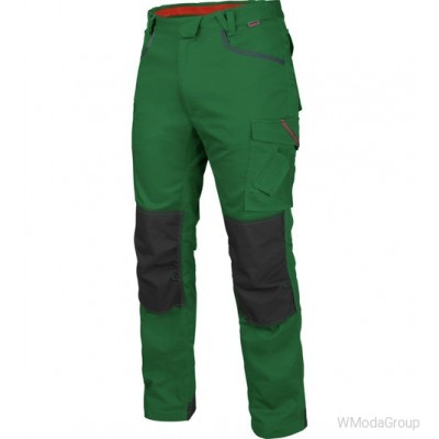 Брюки WURTH / MODYF STRETCH X зеленые
