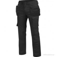 Черные брюки WURTH / MODYF SETUS с навесными карманами