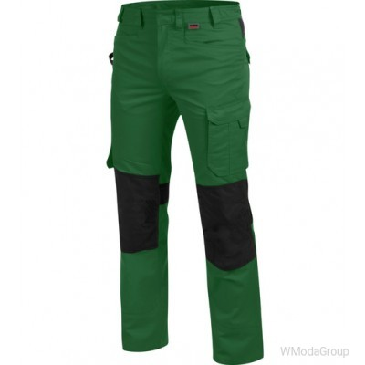 Брюки WURTH / MODYF CETUS зелено-черные