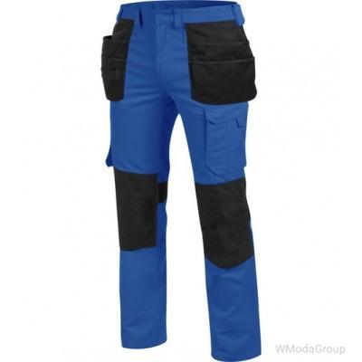 Брюки WURTH / MODYF с навесными карманами CETUS синий / черный